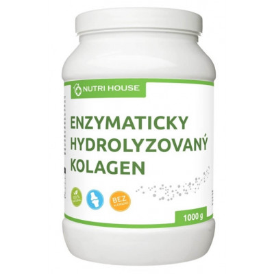 ENZYMATICKY HYDROLYZOVANÝ KOLAGEN 1000 G NUTRIHOUSE