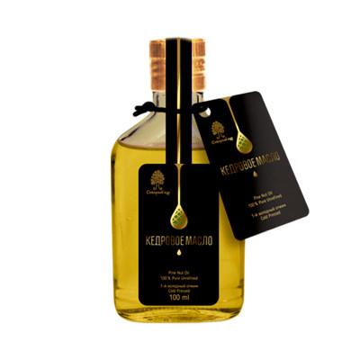 Cedrový olej Altajský 100ml nerafinovaný, SIBIŘSKÝ CEDR