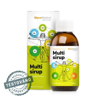 MULTI SIRUP MYCOMEDICA 200 ml