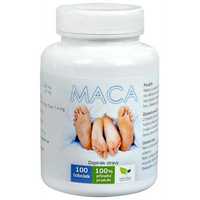 MACA 100 TBL NATURALS MEDICAMENT
