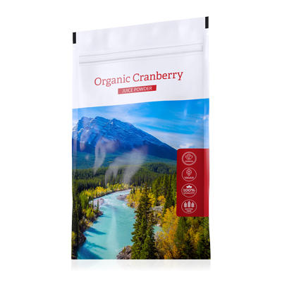ORGANIC CRANBERRY JUICE POWDER  100 g ENERGY