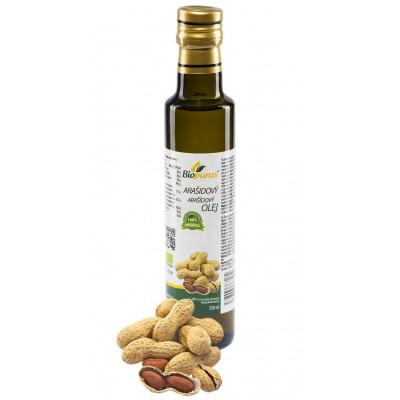 Arašídový olej BIO 250 ml Biopurus AKCE - EXPIRACE 30.6.2021