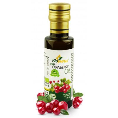 Brusinkový olej BIO 100 ml Biopurus AKCE - EXPIRACE...