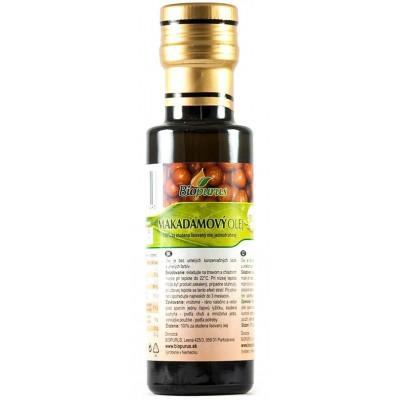 Makadamový olej BIO 250 ml Biopurus AKCE - EXPIRACE...