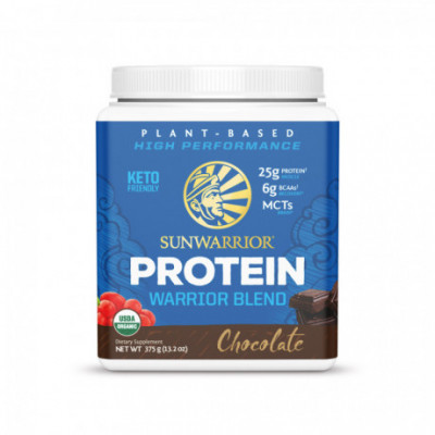 Protein Blend Bio čokoládový 375 g Sunwarrior