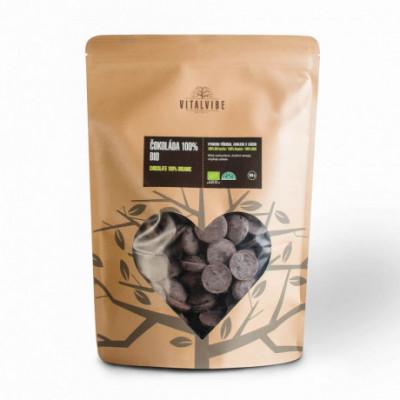 Čokoláda 100% BIO 500 g Vitalvibe