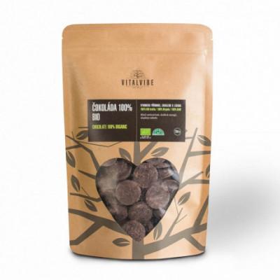 Čokoláda 100% BIO 250 g Vitalvibe