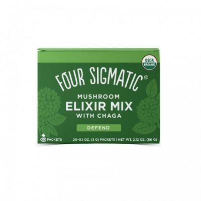 Chaga Mushroom Elixir Mix BIO 20 sáčků Four Sigmatic