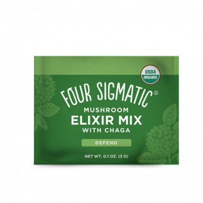 Chaga Mushroom Elixir Mix BIO 1 sáček Four Sigmatic