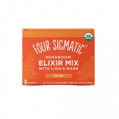 Lion´s Mane Mushroom Elixir Mix 20 sáčků Four Sigmatic