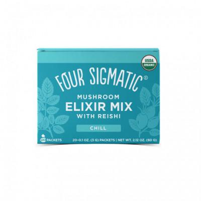 Reishi Mushroom Elixir Mix BIO 20 sáčků Four Sigmatic