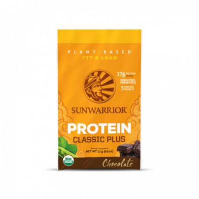 Protein Plus Bio Čokoládový 1 dávka Sunwarrior