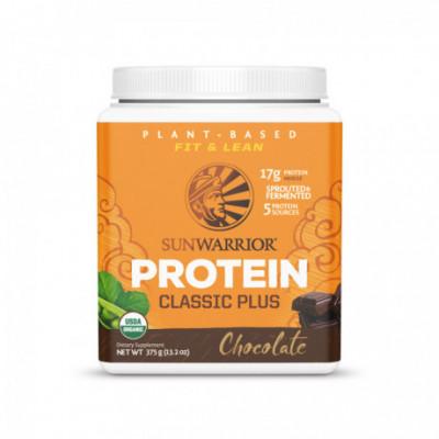 Protein Plus Bio Čokoládový 375 g Sunwarrior