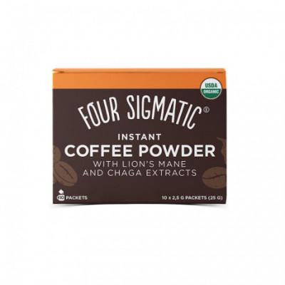 Lion's Mane Mushroom Coffee Mix BIO 10 sáčků Four Sigmatic