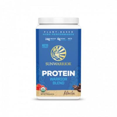 Protein Blend Bio moka 750 g Sunwarrior