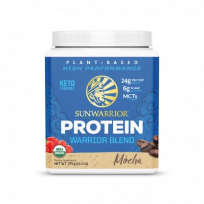 Protein Blend Bio moka 375 g Sunwarrior
