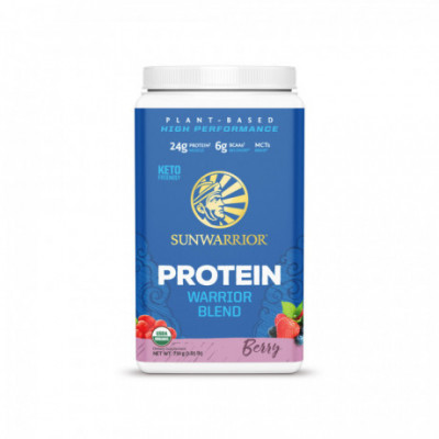 Protein Blend Bio lesní plody 750 g Sunwarrior