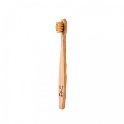 Zubní kartáček bambusový JUNIOR Curanatura