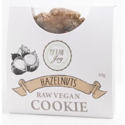 Cookie BIO lískový oříšek My raw joy