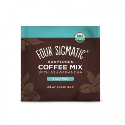 Ashwagandha & Chaga Adaptogen Coffee Mix BIO 1 sáček Four...