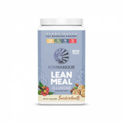 Lean Meal Illumin8 skořicová sušenka 720 g Sunwarrior