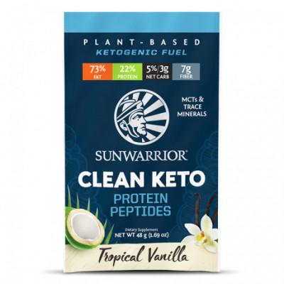 Clean Keto vanilkový 48 g Sunwarrior