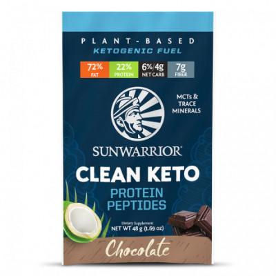 Clean Keto čokoládový 48 g Sunwarrior