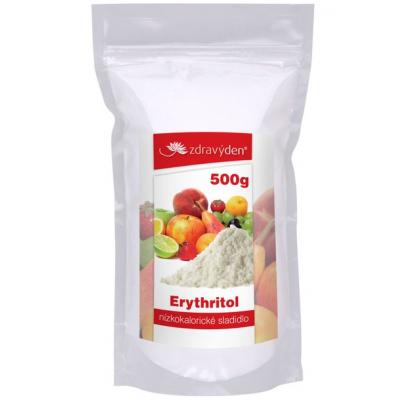 ERYTHRITOL, NÍZKOKALORICKÉ SLADIDLO 500 g