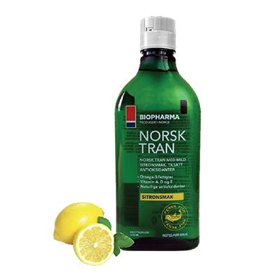 copy of Norský rybí olej 500 ml s citrónovou příchutí...