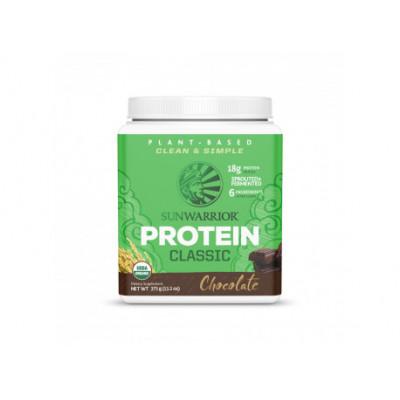 Protein Classic Bio čokoládový 375 g Sunwarrior