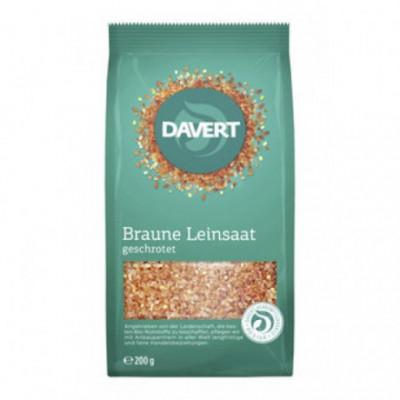 6 x Davert Bio Lněné semínko mleté, 200g